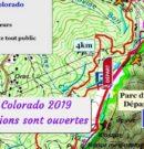 Trail du Colorado 2019 – Le nouveau tracé, c'est fait
