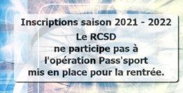 Opération Pass'Sport 2021